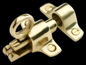 Ring Pull Transom Window Latch