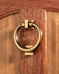 Solid Brass Suffolk Door Knocker